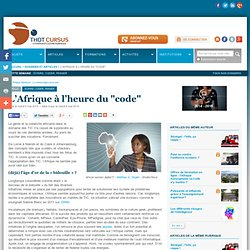 """L'Afrique à l'heure du """"code"""""""