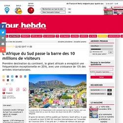 L'Afrique du Sud passe la barre des 10 millions de visiteurs