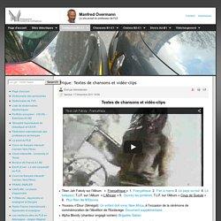 Afrique: Textes de chansons et vidéo-clips