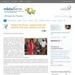 Afrique de l'Ouest : quand travail des femmes rime avec résilience sociale