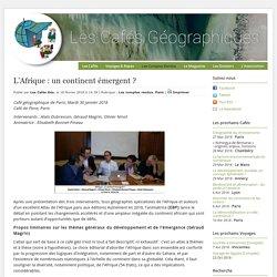 L'Afrique: un continent émergent?