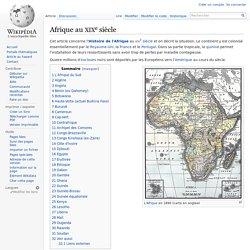 Afrique au XIXe siècle