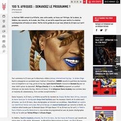 100 % Afriques : demandez le programme ! - La Villette