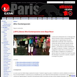 Afro Contemporain - Kajyn Paris