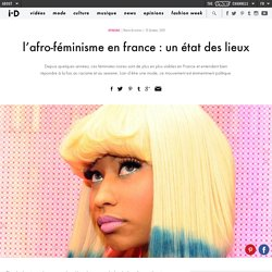 l'afro-féminisme en france : un état des lieux