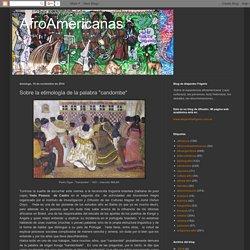 """Sobre la etimología de la palabra """"candombe"""""""