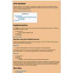 AFS WebDAV - presbrey.mit.edu