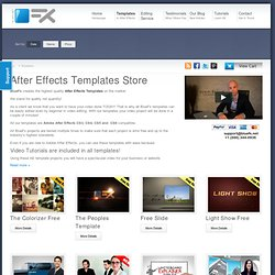 HD After Effects Template Projects | BlueFx