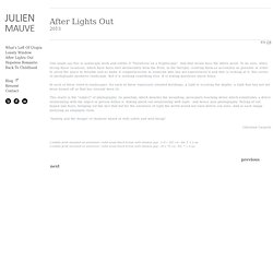 Julien Mauve - After Lights Out