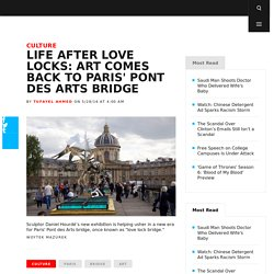 Life After Love Locks: Art Comes Back to Paris' Pont des Arts Bridge
