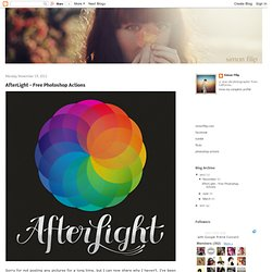 Afterglow - Free Photoshop Actions