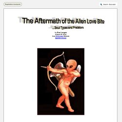 The Aftermath of the Alien Love Bite, Soul Types and Predators