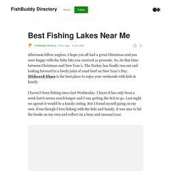 Find Out Fishing Venue