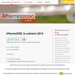 Afterres2050, le scénario 2016 / Afterres 2050