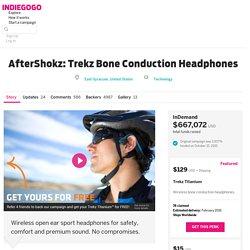 AfterShokz: Trekz Bone Conduction Headphones