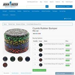 Again Faster Crumb Rubber Bumper KG v2