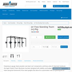 Again Faster New Zealand 20' Free Standing Team 2x3 Rig