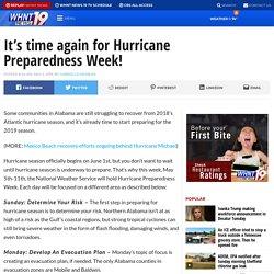 It's time again for Hurricane Preparedness Week!