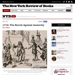 1776: The Revolt Against Austerity by Steve Pincus