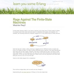 Rage Against The Finite-State Machines | Learn You Some Erlang for Great Good!