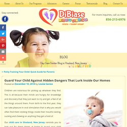 Guard Your Child Against Hidden Dangers That Lurk Inside Our Homes