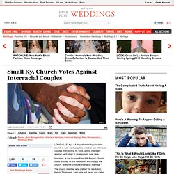 Small Ky. Church Votes Against Interracial Couples