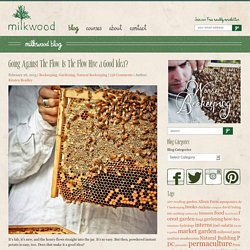 Going Against The Flow: Is The Flow Hive a Good Idea?Milkwood