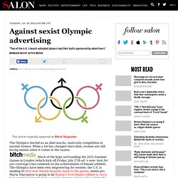 Against sexist Olympic advertising