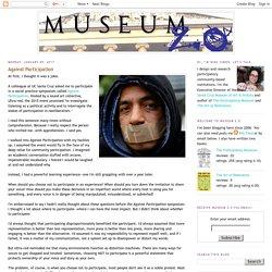 Museum 2.0: Against Participation