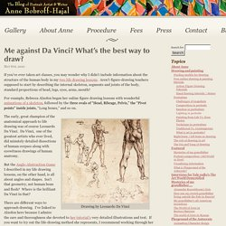 Me against Da Vinci? What's the best way to draw? « Portrait Artist from Westchester, NY – Anne Bobroff-Hajal