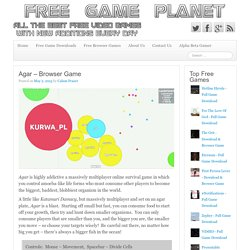Agar – Browser Game