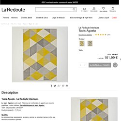 Tapis agasta La Redoute Interieurs