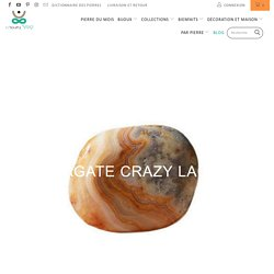 L'Agate Crazy Lace - Le Temple Yogi