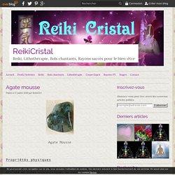 Agate mousse - ReikiCristal