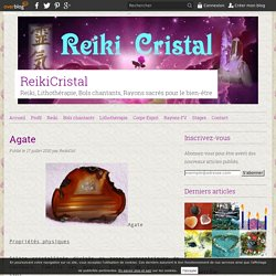Agate - ReikiCristal