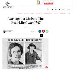 Agatha Christie Disappearance - Gone Girl