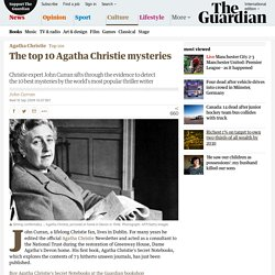 The top 10 Agatha Christie mysteries