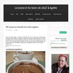 La Cuisine et les loisirs de JuliaT & AgatheTHE mousse au chocolat à la crème anglaise