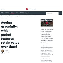 """Ageing gracefully"" – which period features retain value over time?"