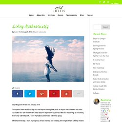 AGELESS INSIDE OUT: Living Authentically