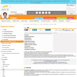SNC - APCE, agence pour la création d'entreprises