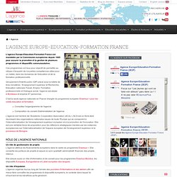 L'agence Europe-Education-Formation France