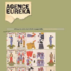 Agence eureka: paper dolls