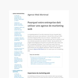agence marketing montreal