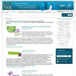 L'Agence nationale des Usages des TICE - Actualités