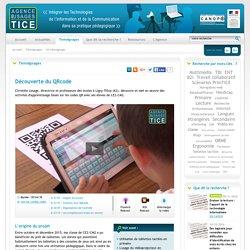L'Agence nationale des Usages des TICE - Découverte du QRcode