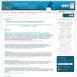L'Agence nationale des Usages des TICE