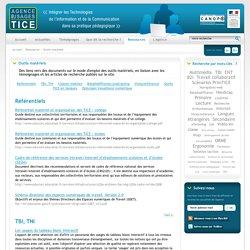 L'Agence nationale des Usages des TICE - Outils matériels