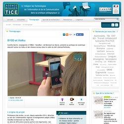 L'Agence nationale des Usages des TICE - BYOD et Haiku