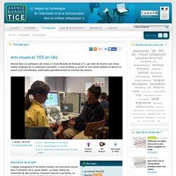 L'Agence nationale des Usages des TICE - Arts visuels et TICE en CM2